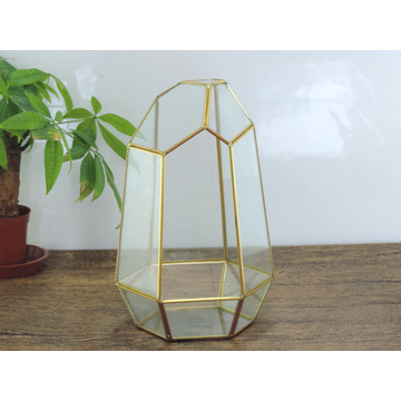 Home Garden Geometric Glass Terrarium Decoration